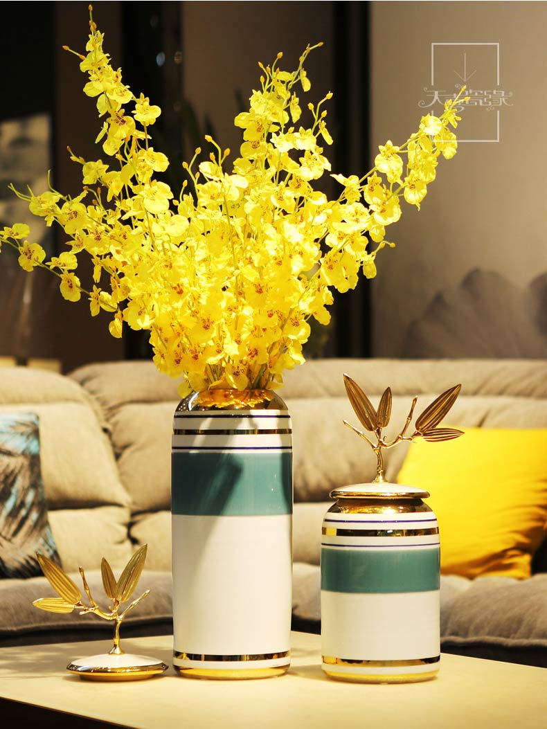 American light and decoration ceramics furnishing articles creative wine decorations living room TV ark, desktop vases, flower arranging household act the role ofing is tasted