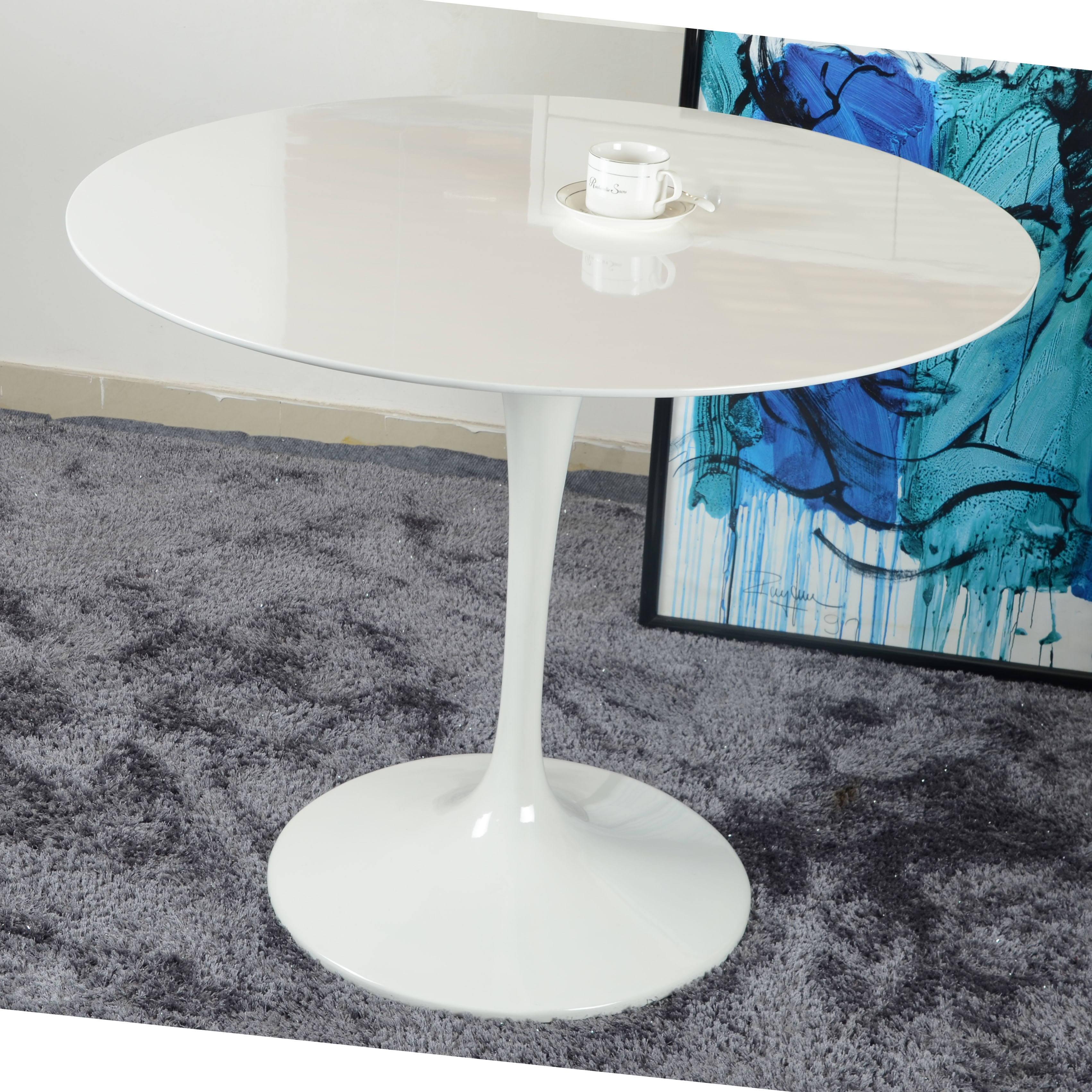 Usd 185 18 Frp Dining Table Outdoor Table Balcony Round Table