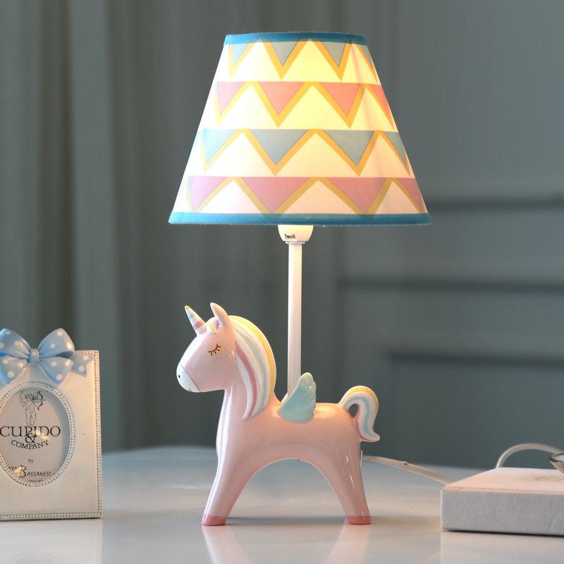 Раздвижные светодиодные столы свет Двуспальная кровать свет Творческий и романтический детские Номер милый стиль INS