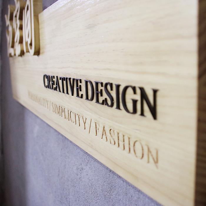 木制品定制创意招牌户外木广告牌门头广告挂牌木质牌匾雕刻字定制