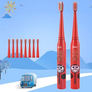 拜尔儿童电动牙刷充电式3-6-12岁小孩宝宝声波震动软毛牙刷神器