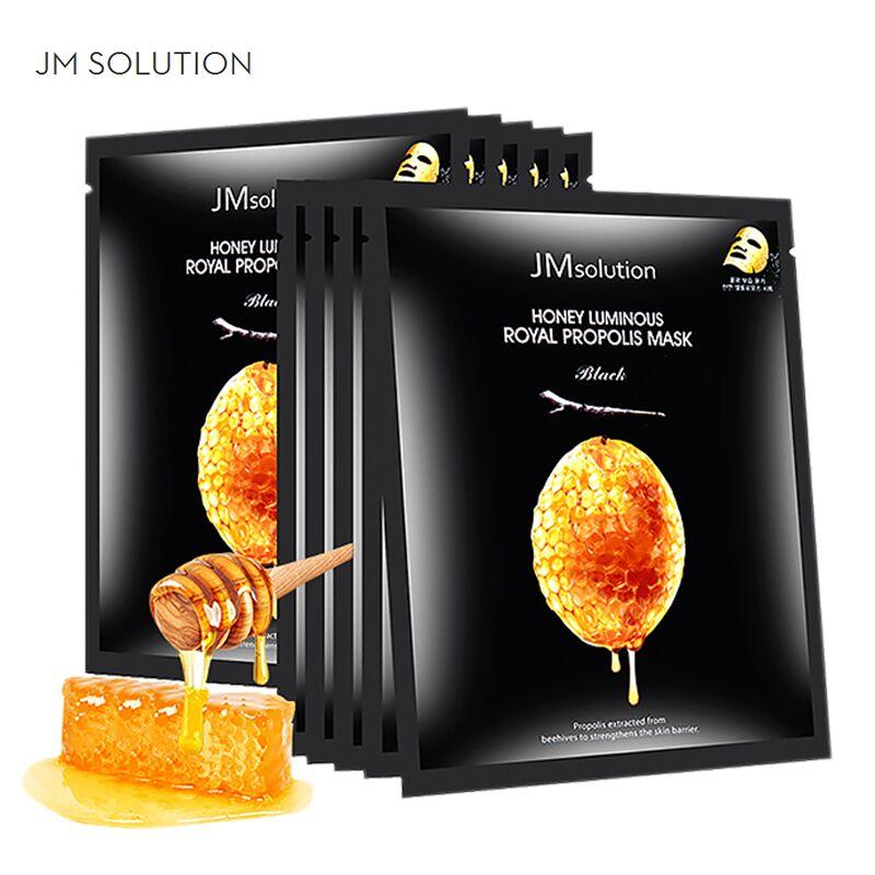 2盒装20片韩国JM solution水光蜂蜜面膜蚕丝补水保湿紧致提拉滋润