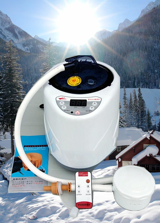 USD 44.84] Steam bath tub steam machine steam sauna box household ...