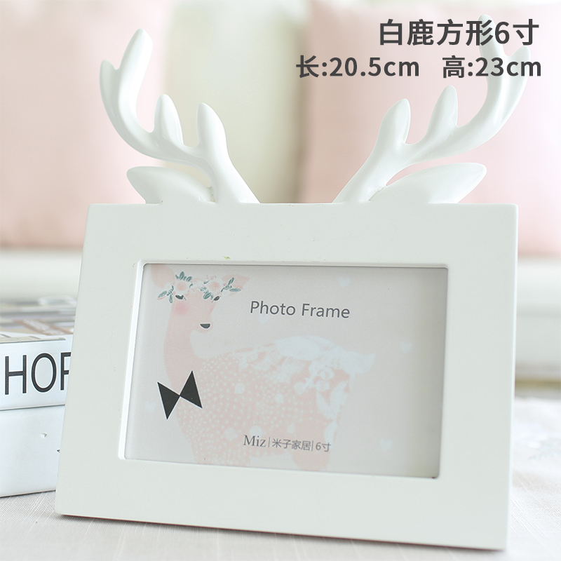 USD 19.41] Mi Zi Home original Korean couple Heart Animal photo ...