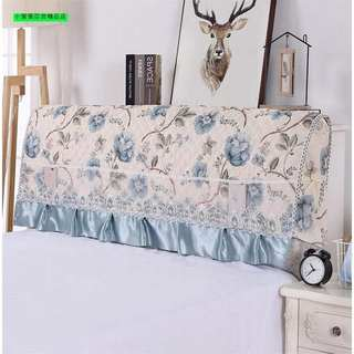 Clip cotton cover bed 1,2m1,5m1,8m2,0m2,2m bedhead cover thickened fittings three-layer bedhead cover dust cover