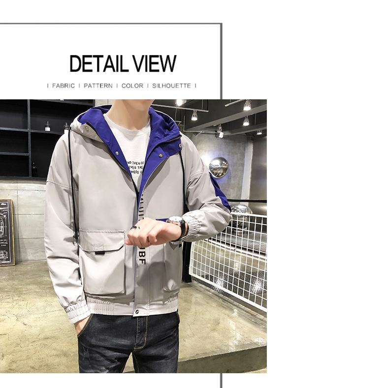 外套男士春秋季机能工装2020新款潮流韩版上衣男装夹克JK599-P35