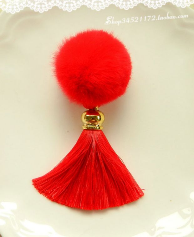 Цвет: Большой красный Рекс кролика бал золото СУ утконоса клип пара