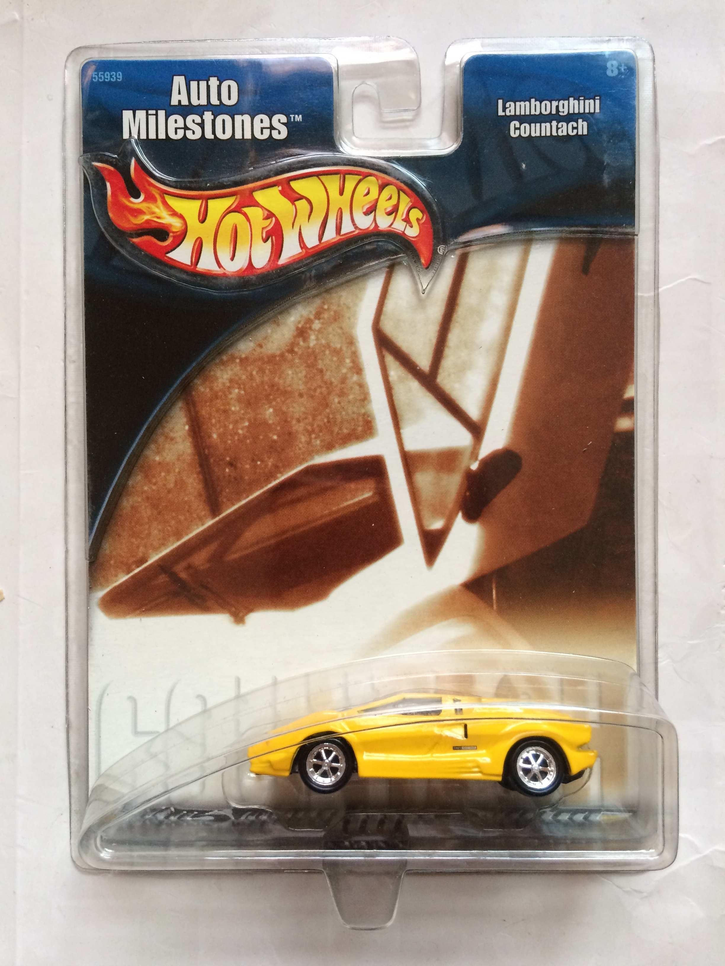 Lemon Yellow Countach