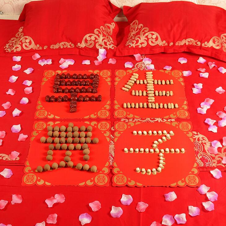decoration marriage bed. To sweeten the marriage room layout decoration ideas new home bedroom  bed sprinkle swing member presses Hi wedding supplies USD 8 07