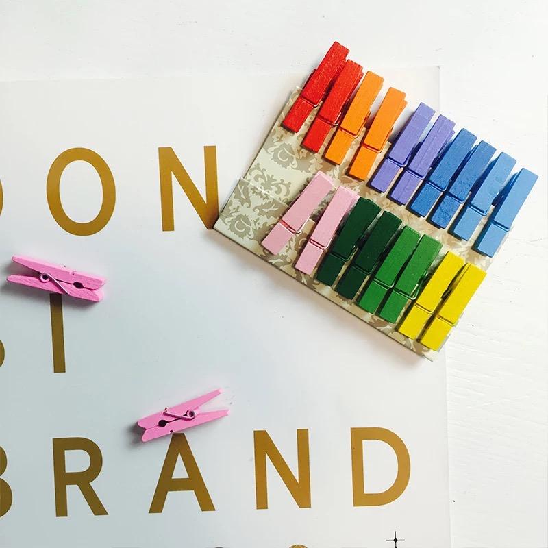 【Случайный цвет】Хан Фэн Сяоцин новый дерево разноцветный Фоторолик фото украшение стен 20 пачек