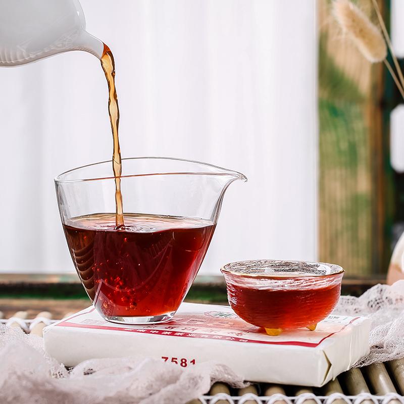 世界500强中粮旗下:中茶 经典7581标杆普洱熟茶 250g