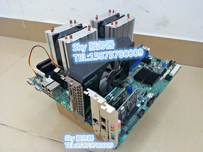 Arrival Intel S2600CP X79 2011 pin dual E5 server virtual game hang up  Quanta motherboard
