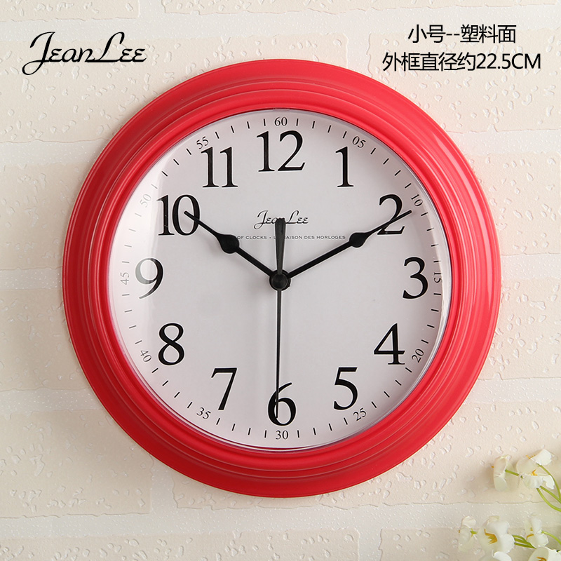 daily specials modern simple clock wall clock living room bedroom household round battery. Black Bedroom Furniture Sets. Home Design Ideas