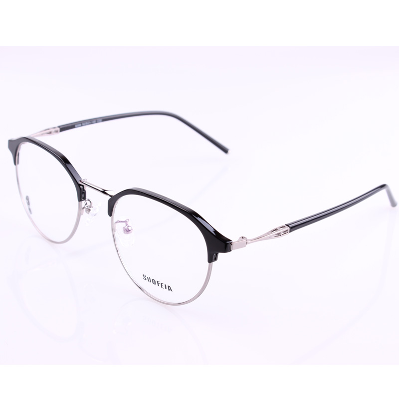 ea3d5b0d11dfe USD 55.20  Polygonal eyebrows glasses frame men and women models ...