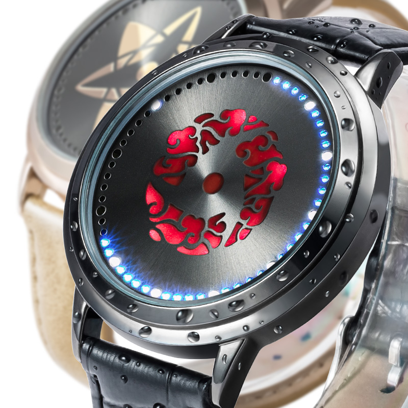 naruto watches dinodirect fashion cutevima sign com sharingan slider origin led