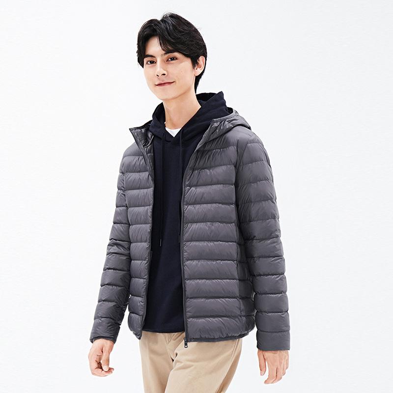 【高梵】微防水轻薄保暖男士羽绒服