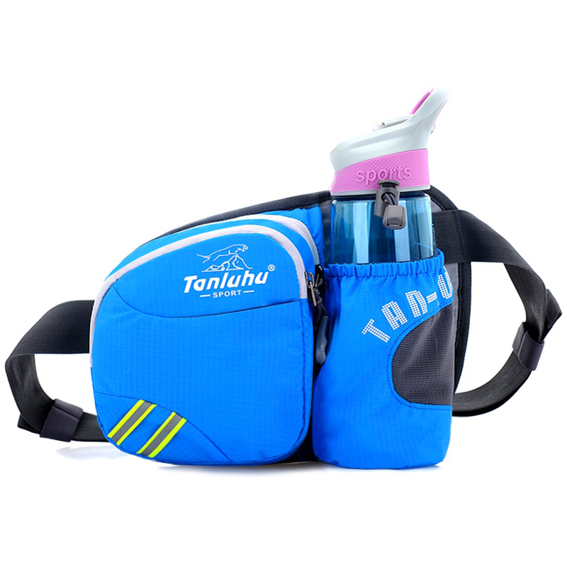 Outdoor sports Running fitness marathon kettle waist bag Men and women leisure multi-functional waterproof cycling oblique cross bag small