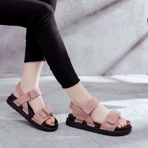 2018新款夏季女式韩版松糕女鞋