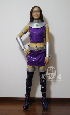 taobao agent 【Afu】Teen Titans Starfire whole cos/cosplay costume