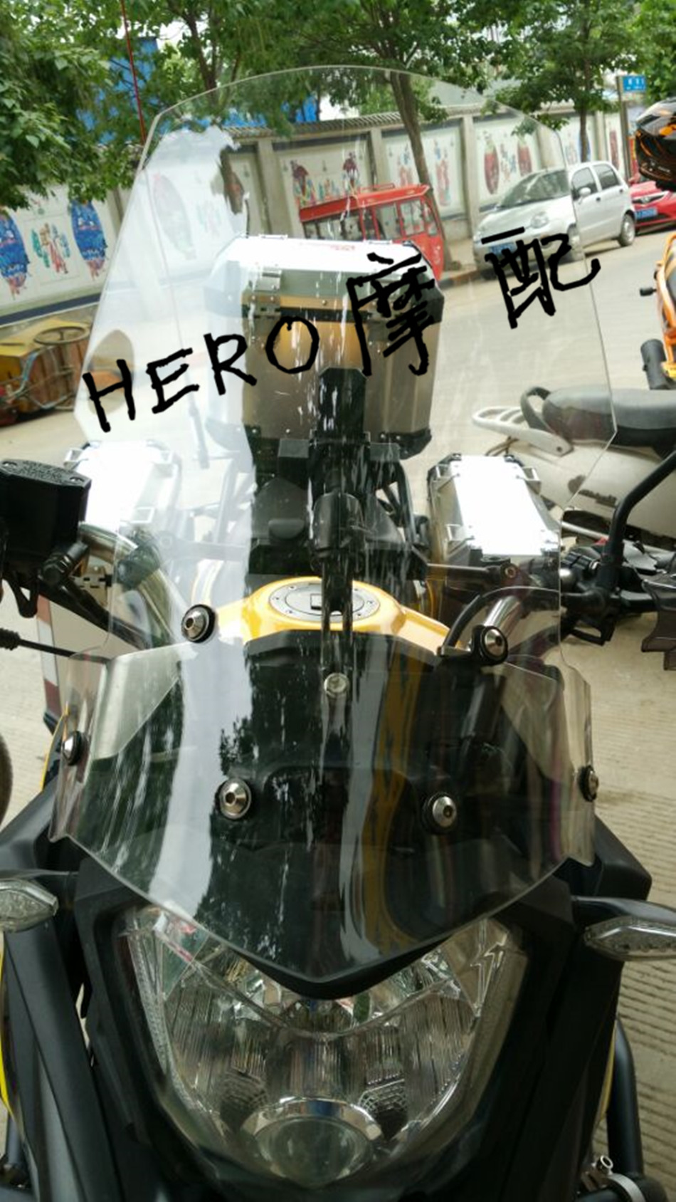 Zongshen RX3 modified windshield high quality recommended 50 cm