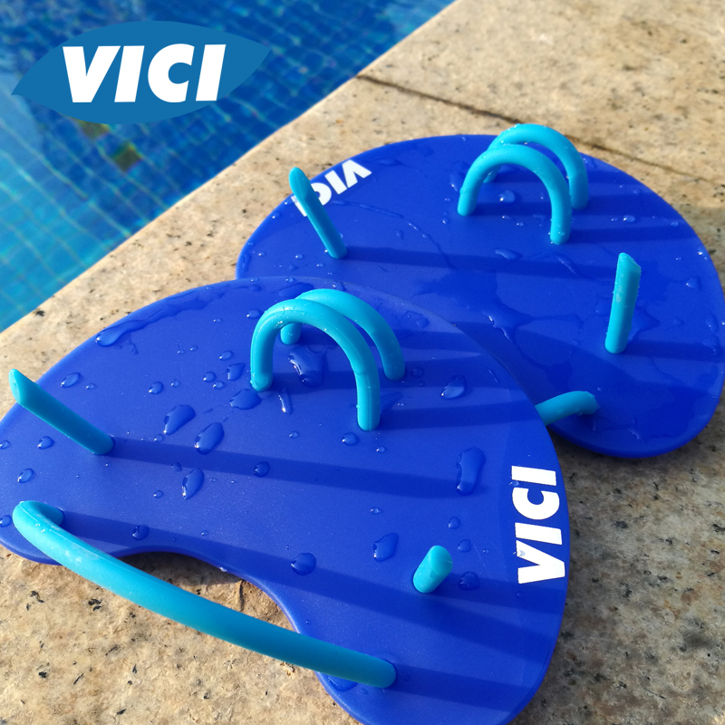 VICI men and women swimming posture stroke half hand professional training handcuffs swimming equipment