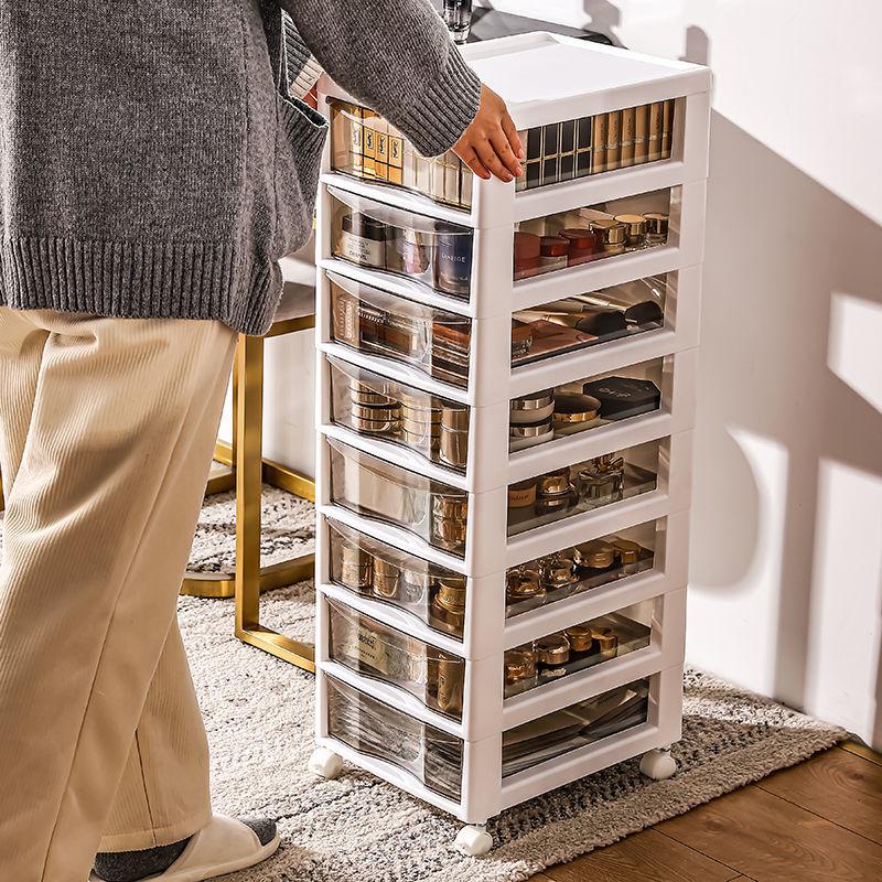 抽屉式收纳柜子多功能储物柜大号床头柜