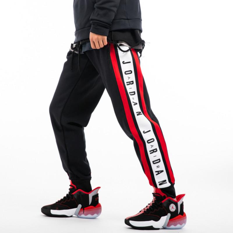 Fly Sneaker體育運動裝備Nike 耐克 男子籃球系帶針織加絨保暖休閒運動長褲 DD2329-010