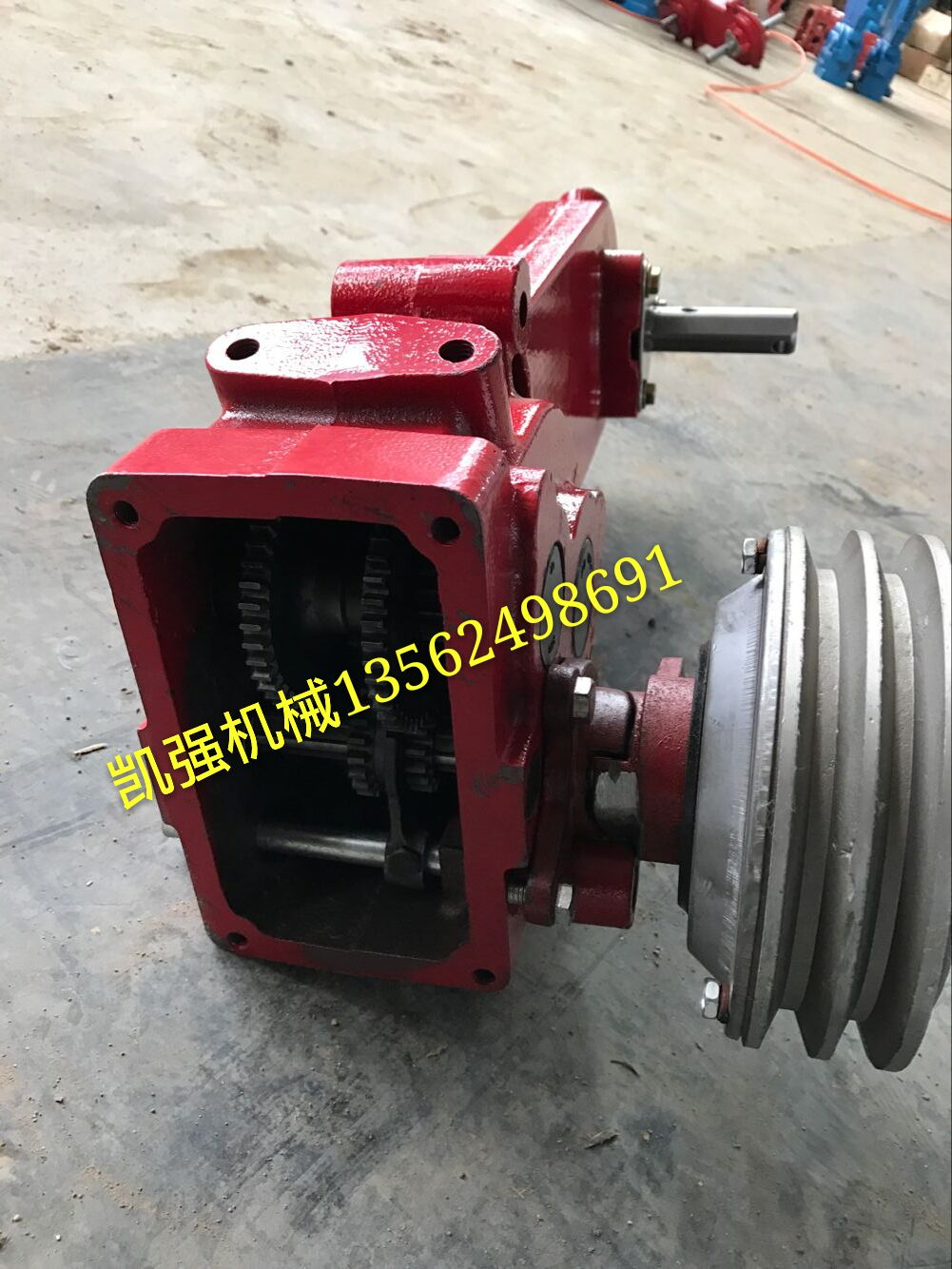 Agricultural machinery manufacturers direct drug machine gearbox dry clutch  gearbox Rotary Tiller gearbox assembly