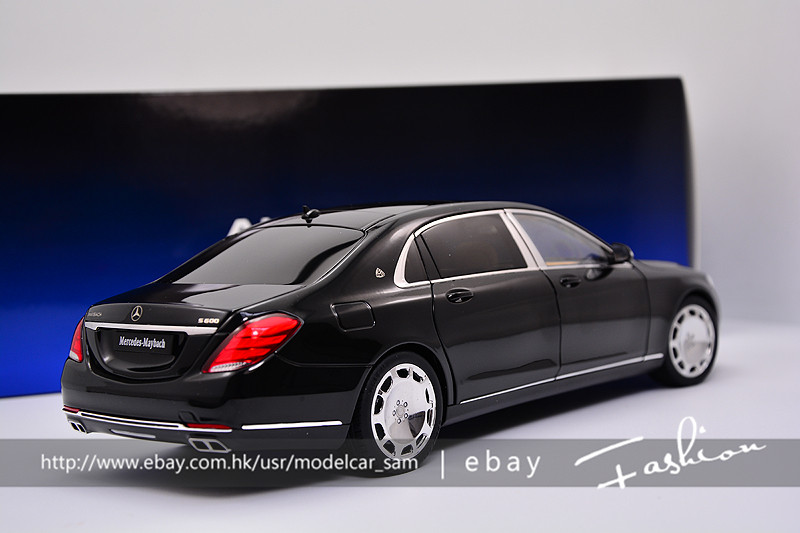 autoart 1 18 mercedes benz s600 maybach swb black ebay