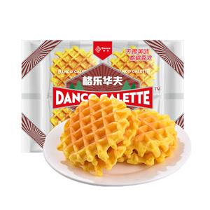 【丹夫旗舰店】黄油格乐华夫120*3盒