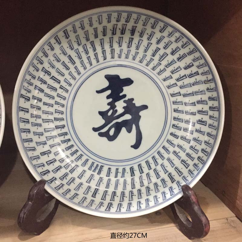 Jingdezhen hand - made decorative porcelain lion furnishing articles archaize life of word hand - made of porcelain kangxi in the the qing dynasty porcelain lion