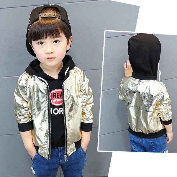 7acb10cd6 Boys coat spring 2018 children s clothing new leather 3-5-7 years old ...
