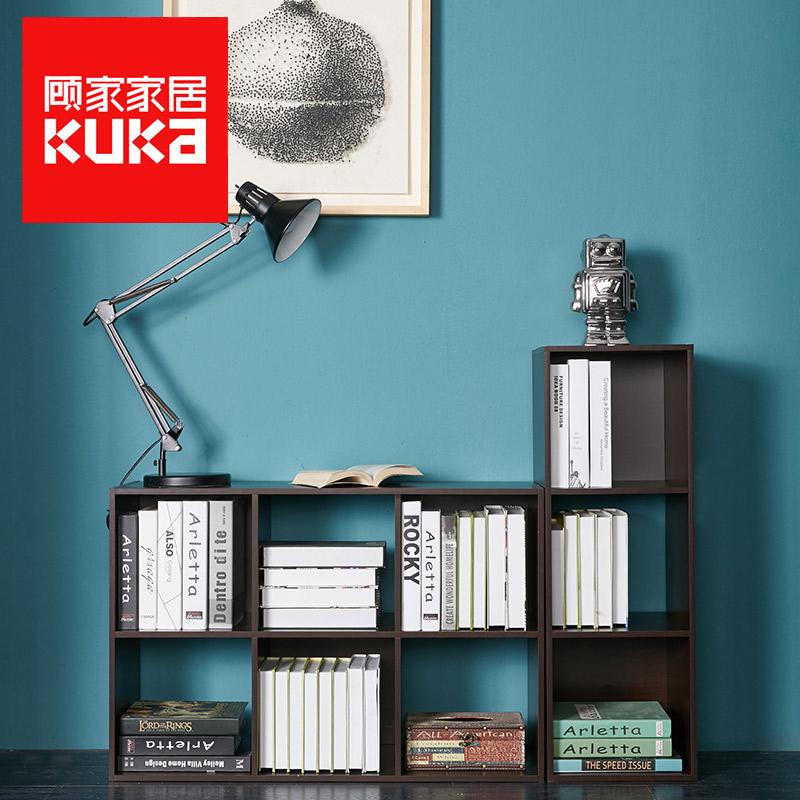 Посещать домой домой простой книжный шкаф сын хранение кабинет легко бесплатно сочетание книжный шкаф книжная полка книга кабинет сборка сетка кабинет XJ