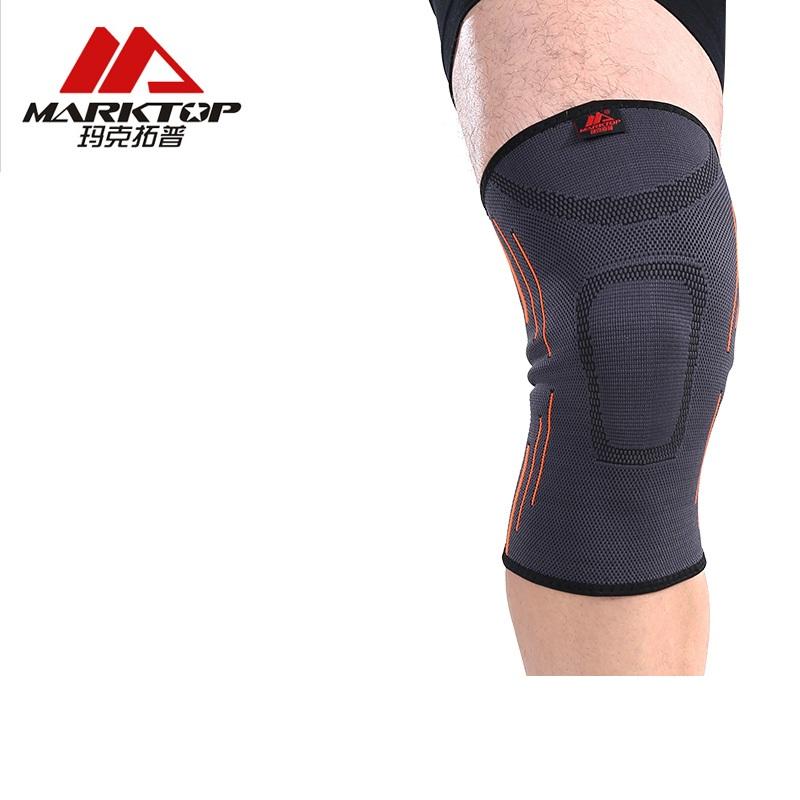 玛克拓普护膝运动篮球跑步足球羽毛球健身男女夏季透气护膝护具薄