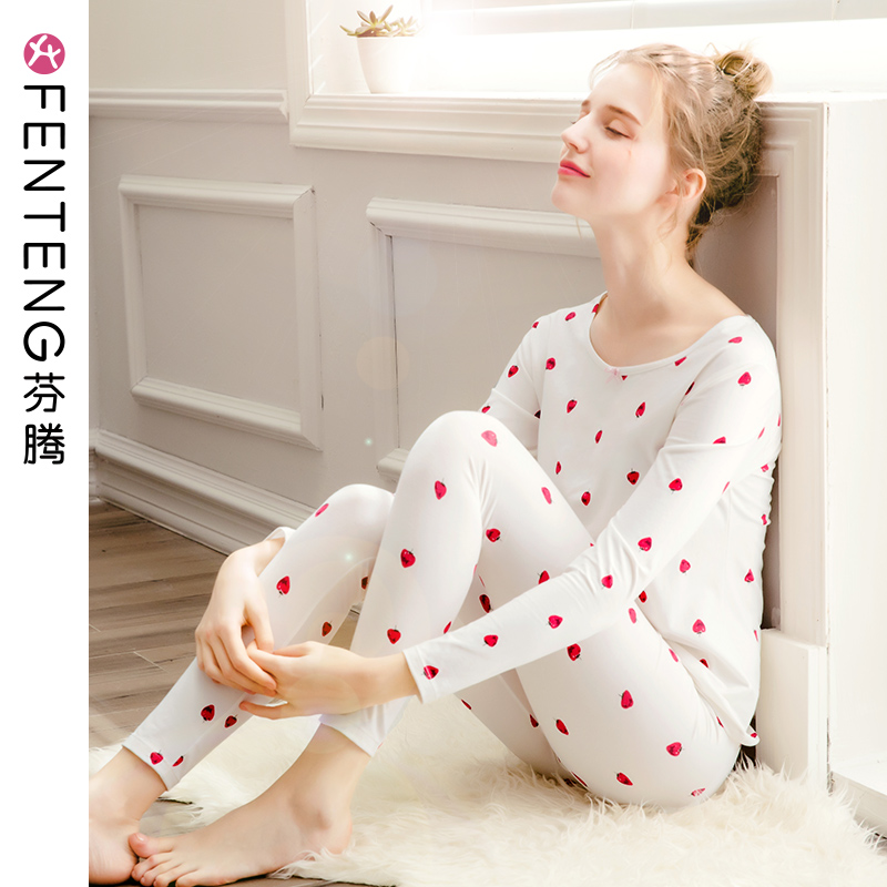 Fen Teng new autumn and winter girl fever clothing female autumn clothing pants sexy cute cotton slim shirt shirt suit