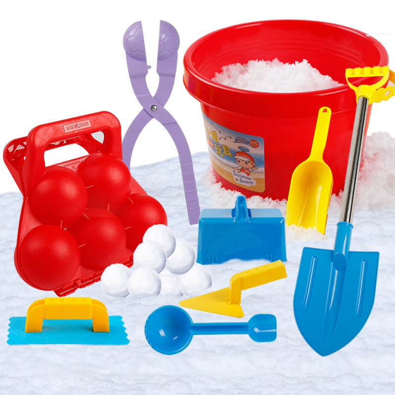 bee9377adcb2 USD 9.27  Children s Snow Ball clip play Snow tools snow fight clip ...