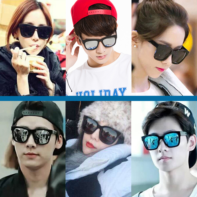 04330d4035 USD 16.88  New Korean version of the retro gm sunglasses color ...