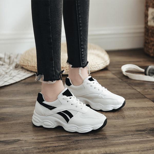 新款运动鞋女秋季韩版ulzzang休闲鞋