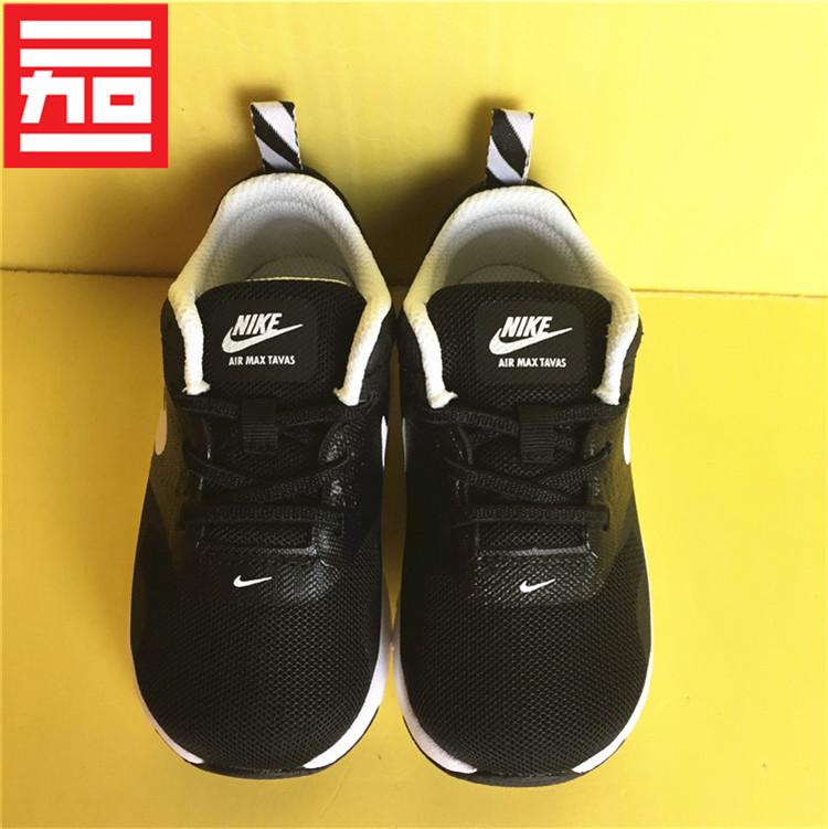 #NIKE耐克AIR MAX TAVAS兒童男女大童款氣墊休閒運動鞋 844106-001