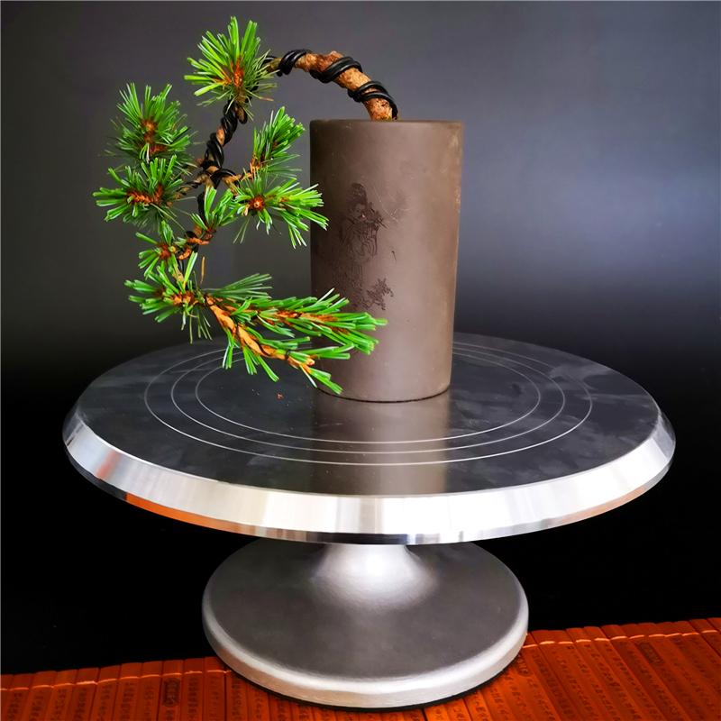 Bàn xoay bonsai Bàn cắt tỉa cây cảnh Bàn xoay Bàn sản xuất cây cảnh mô hình công cụ bàn xoay có thể được khóa - Nguồn cung cấp vườn