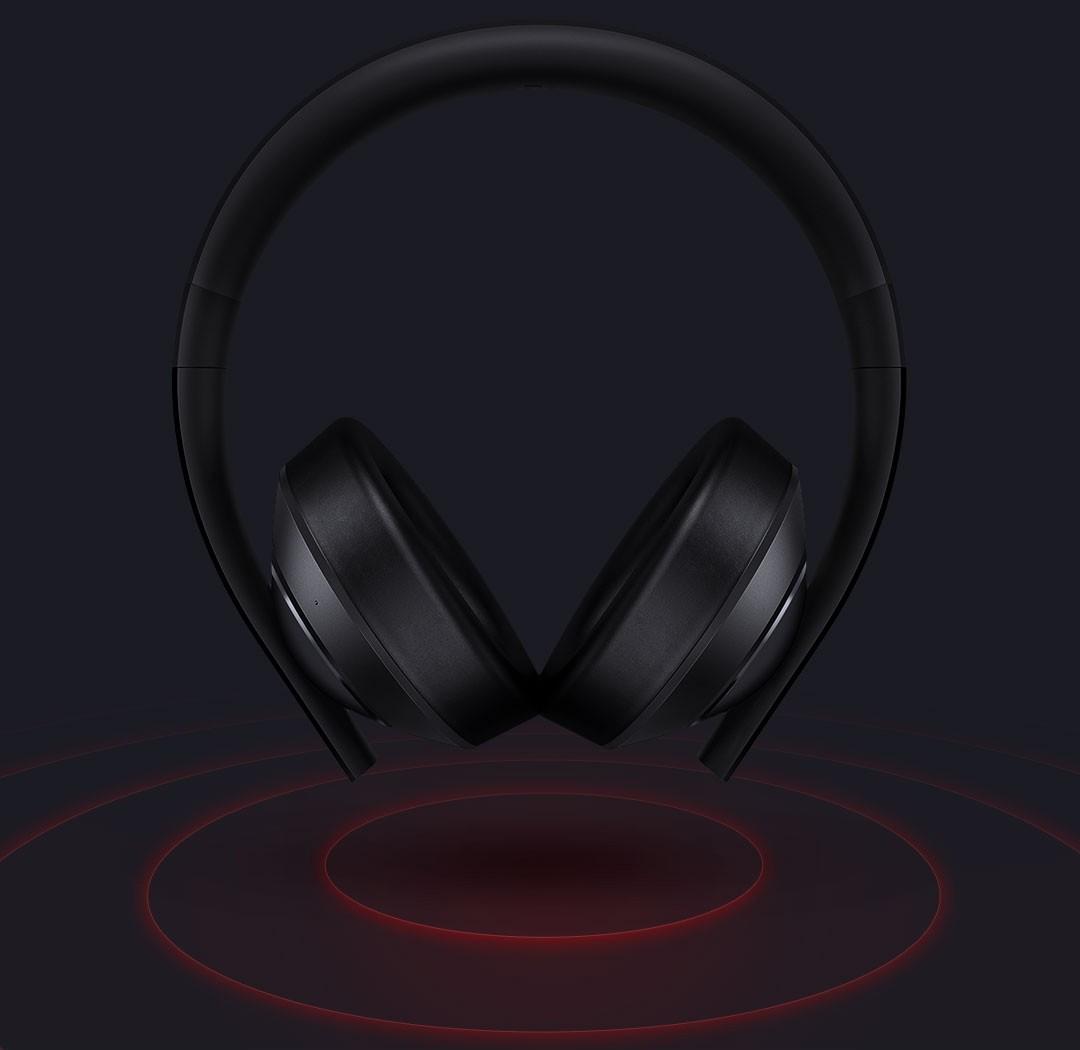 Сяоми игра наушники 7.1 ложный план кольцо вокруг трехмерный звук двигатель 40mm графит огненный цвет комплекс трясти мембрана двойной пшеница подавление шума