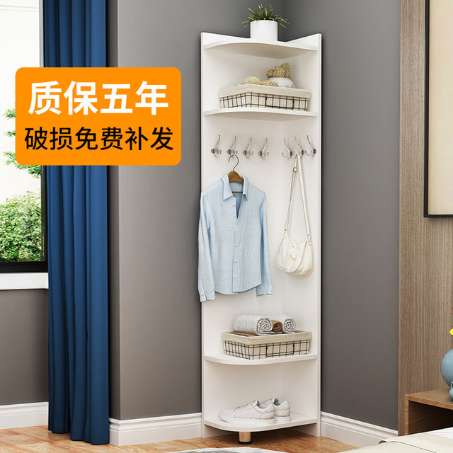 Living room corner coat rack landing bedroom hanging coat ...