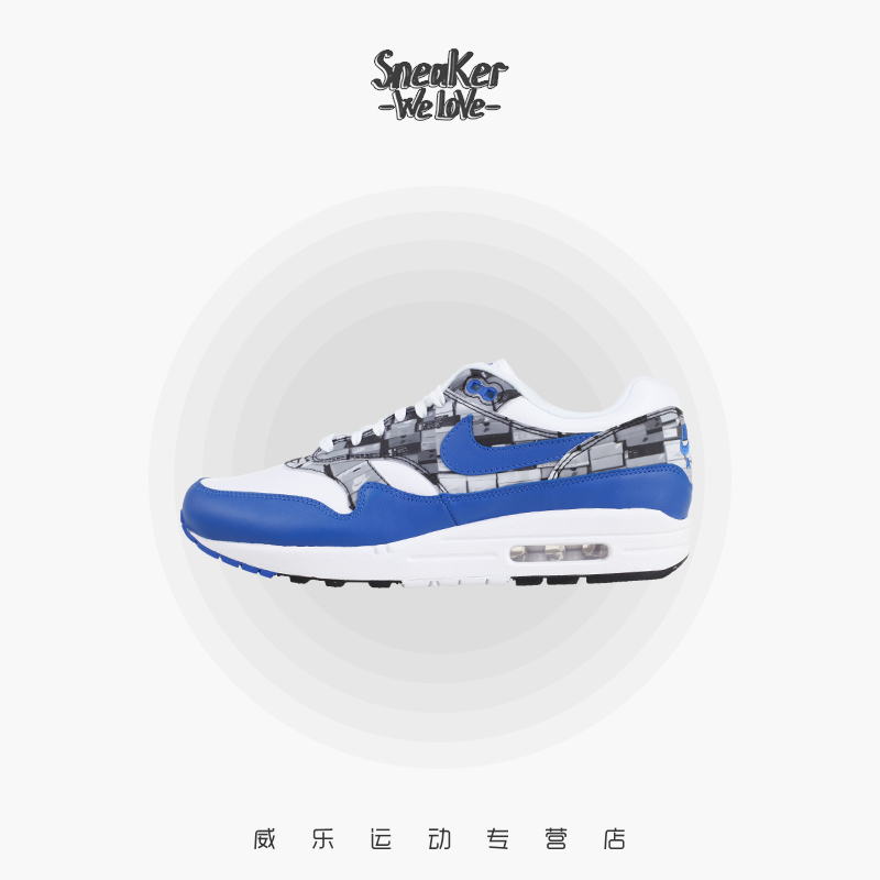 9e3d9ecc64 Nike Nike Air Max 1 Print We Love Nike atmos joint running shoes AQ0927-100