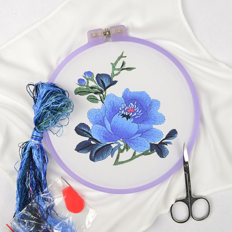 Джин Ву стрелка Su вышивка diy новичок комплект ручная работа Материал носового платка пакет Китайский стиль антикварная вышивка DIY beginner