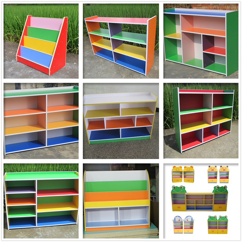 Beau Kindergarten Multi Functional Small Cabinet Shoe Cabinet Toy Cabinet  Bookcase Cabinet Storage Cabinet Fire Board Cabinet Home Bookshelf