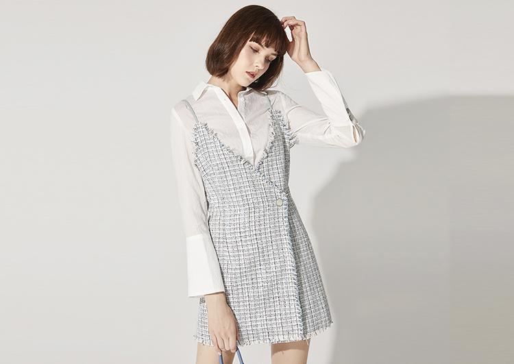 初秋的连衣裙穿搭,美得更仙更时髦~