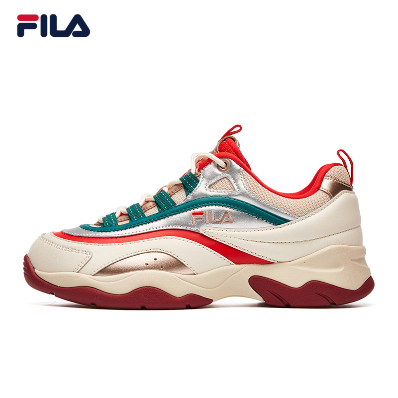 FILA Phil RAY women retro running shoes 2019 spring new sports and leisure fashion fashion shoes