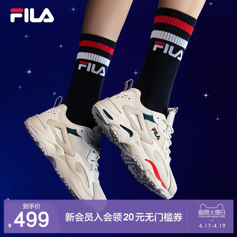 FILA официальный фиджи музыка старый отец обувной женщина 2021 лето пробег обувной мужчина TRACER любители спортивной обуви случайный обувь женская