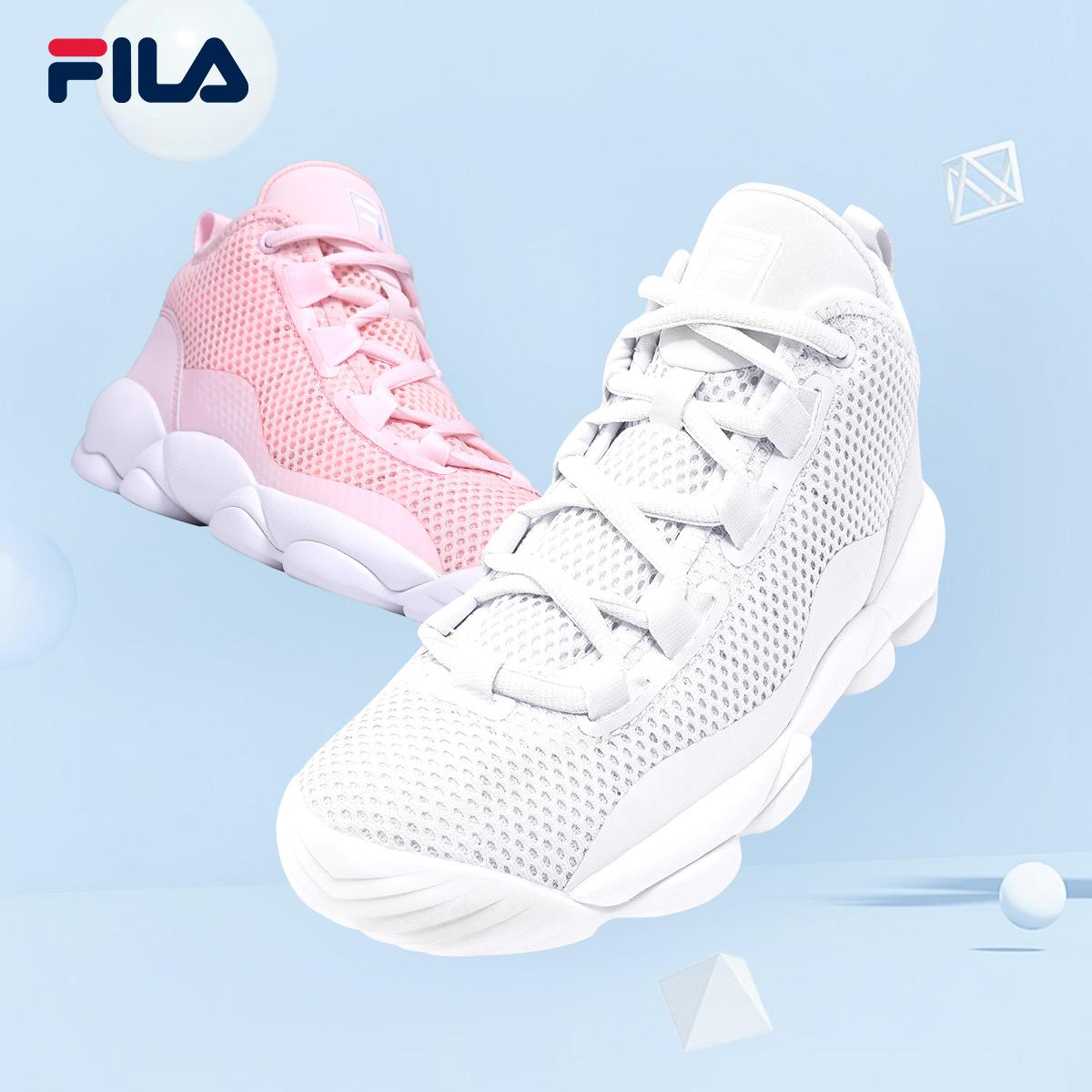 Обувь FILA Fila BB 2018 женская обувь новый товар новинка  воздухопроницаемый Кроссовки для баскетбола для отдыха 54fd07d086b2c