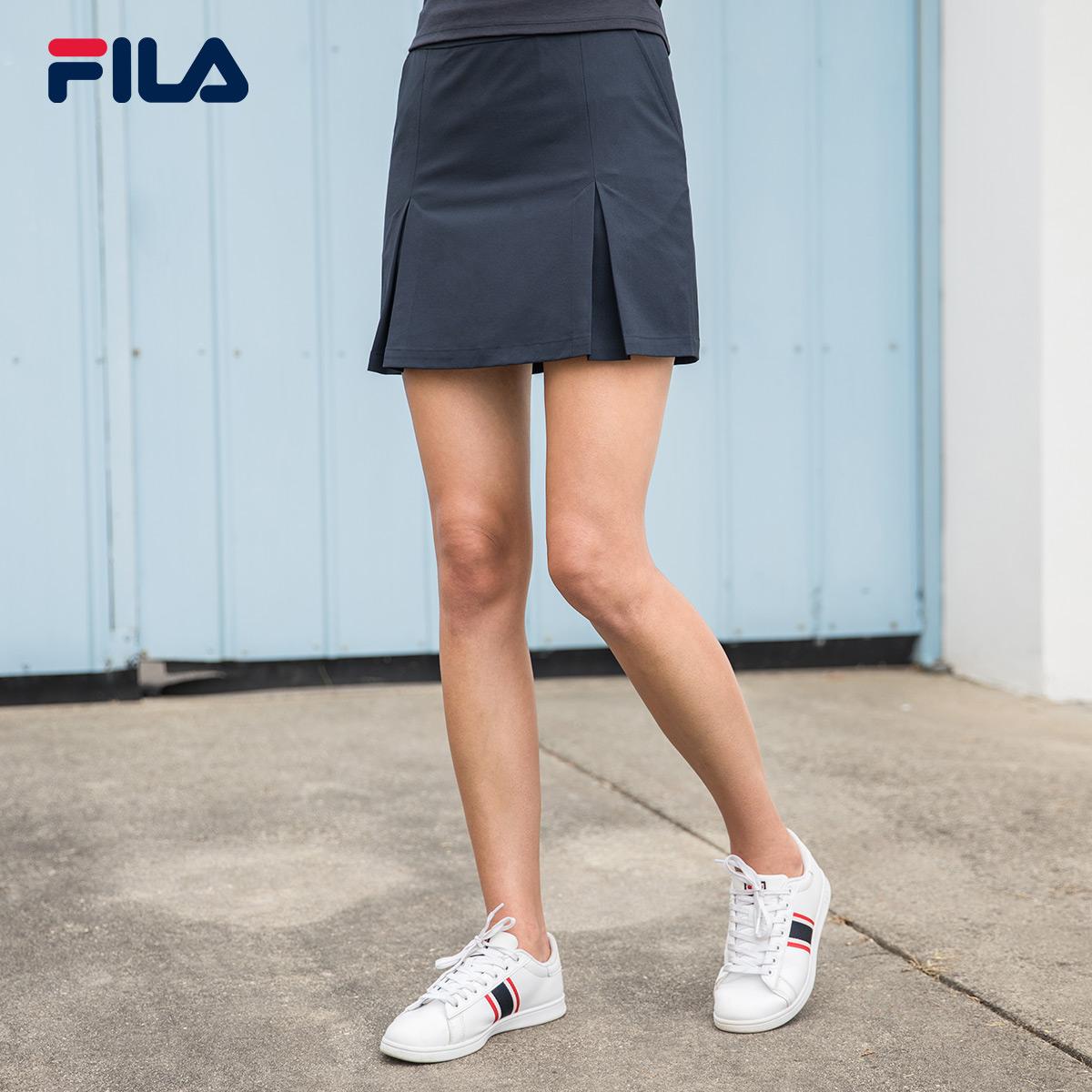 FILA Fila váy 2018 mùa hè mới thoải mái giản dị thể thao váy váy phụ nữ